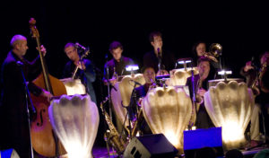 The Pearly Shells Big Band at the Melbourne fringe festival