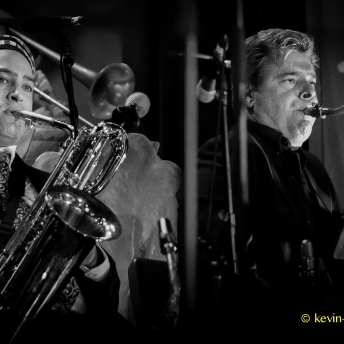 Sax section - Adam and Dean