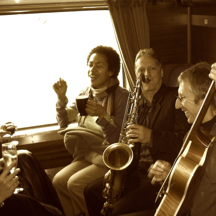 Trio on a train #2