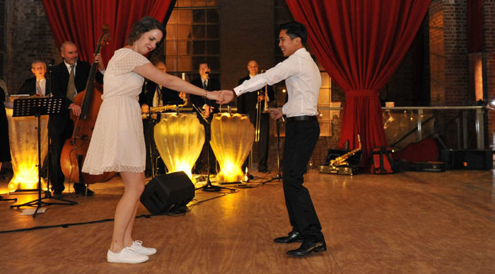 First dance at the Substation